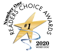 Wicked Local Number 1 Readers Choice Award for 2018