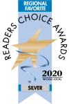 Wicked Local Regional Favorite Readers Choice Award for 2018